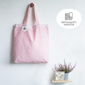 Daugkartinis prekių krepšys BARBĖ DEVYNDARBĖ 2