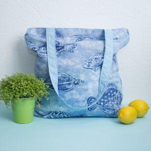 Daugkartinis prekių krepšys VANDENŲ PASLAPTYS