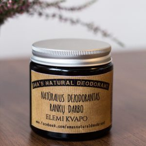 🇱🇹 Natūralus Emos dezodorantas GAIVA SU AŠTRUMU | ELEMI 120 ml