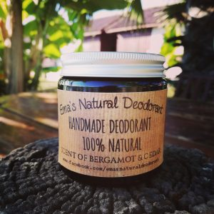 🇱🇹 Natūralus Emos dezodorantas KEDRAS SU BERGAMOTE 120 ml