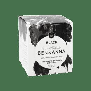 Dantų pasta su aktyvuota anglimi Ben&Anna 100 ml