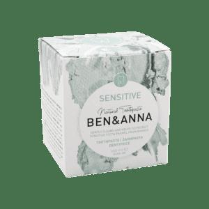 Dantų pasta jautriems dantims Ben&Anna 100 ml