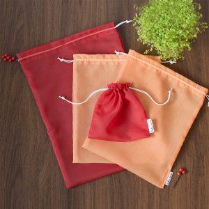 Daugkartinių maišelių rinkinys (permatomų)