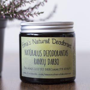 🇱🇹 Natūralus Emos dezodorantas RYTAS HIMALAJUOSE | PALMAZORA SU BERGAMOTE 120 ml