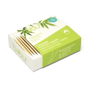 Bambukiniai ausų krapštukai | BABU 100 vnt.