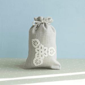 🇱🇹 Lininis daugkartinis maišelis | ONUKO DARBAI (M dydis)