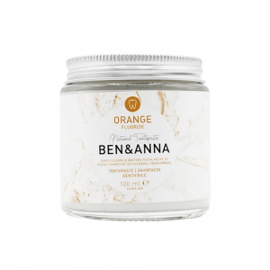 Apelsinų skonio dantų pasta su fluoridu Ben&Anna 100 ml