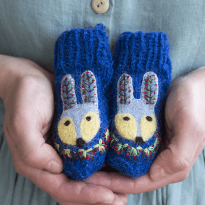 🇱🇹 Eglės vilnonės kojinytės naujagimiams PIŠKIS ŽEMUOGIŲ KRŪME