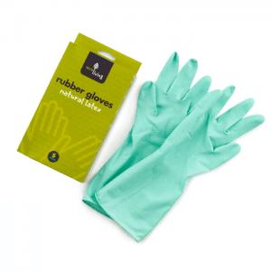 Natūralaus latekso guminės pirštinės | ECOLIVING (žalios)