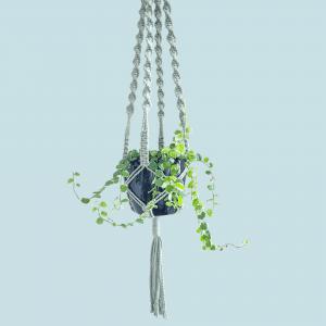 Pintas gėlių vazono laikiklis | TŪKSTANTIS MAZGŲ (žalsvas)